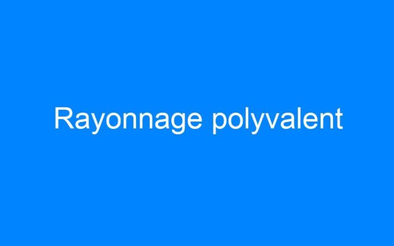 Rayonnage polyvalent
